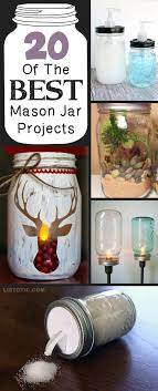 Mason Jar Decorating Ideas For Christmas 100 Of The Best DIY Mason Jar Crafts for home more 97