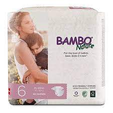 Bambo Nature Premium Baby Diapers Size 6 22 Count Baby