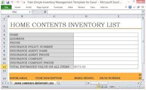 How To Create An Inventory System In Excel Free Simple Inventory Management Template For Excel