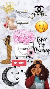 Baddie Cute Wallpapers Black Girl