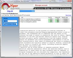 plagiarism detection tools viper scanning