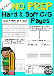 Phonics helps students learn to identify relationships between words and sounds. No Prep Hard And Soft C And G Pages This Reading Mama