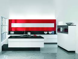 Red White Kitchen Kitchen Design Modern Red And White Kitchen Design Inspiration