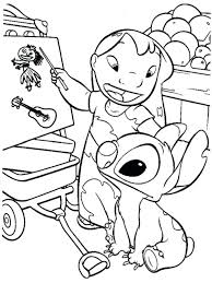lilo stitch coloring pages teach in page disney and colouring