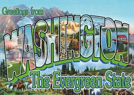 Greetings from Washington (State)   Vacation Cards & Quotes 🗺️🏖️   Send  real postcards online