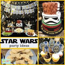 star wars party decorations for a 4th