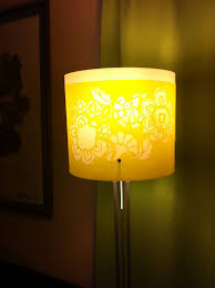 full size of attractive floor lamps ikea with bright yellow lighting chrome white flral printed accent