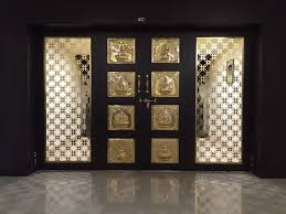 elegant door designs for pooja rooms