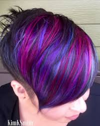Multi Colored Short Hairstyles Hair Multi Colored Hair