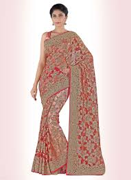 Cutdana Work Saree Designs Alluring Net Cut Dana Designer Saree