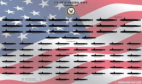 Us Submarine Classes Chart Here Are All The Fighting Submarines Of The U S Navy