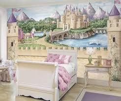 girls bedroom mural photo 3 on castle wall art mural with girls bedroom mural photos and video wylielauderhouse