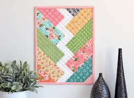 12 adorable mini quilt patterns one