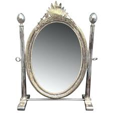 century silver plated oval vanity mirror at oval vanity mirror org master id f century silver