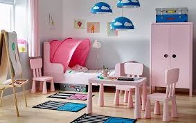 bedroom gallery ikea sets kids bedroom with white walls and a light pink bed wardrobe and tables