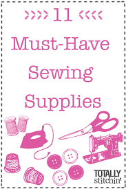 11 Must-Have Sewing Supplies - Totally Stitchin & Totally Stitchin': 10 Must Have Sewing Supplies Adamdwight.com