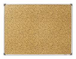 Post It Adhesive Memo Notice Board Framed Cork Design 90 Cm X