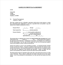 Payment Agreement Form Sample 100 Payment Agreement Templates Free Sample Example Format 2