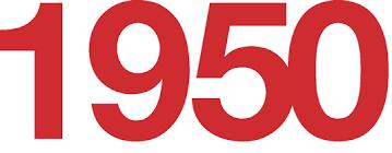 「1950」の画像検索結果