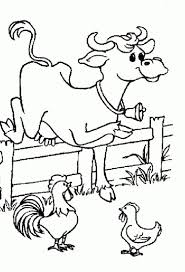 Cow And Chicken Coloring Pages Coloring Pages Ideas Chicken