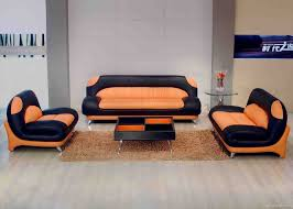Orange Chairs Living Room Different Ideas To Decorate Living Room With Orange Furniture