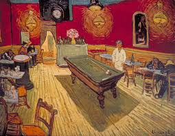 vincent van gogh the night cafe 1888 via