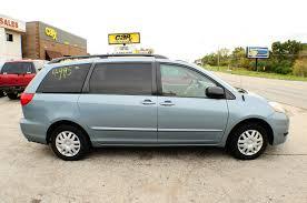 2006 Toyota Sienna LE Blue used Mini Van sale