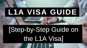 L1a Visa Guide Step By Step Guide On The L1a Visa Ashoori Law