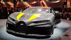 Named chiron super sports 300+, it's an evolution of the standard car that promises to let buyers who find a long enough stretch of tarmac channel their inner andy wallace. Bugatti Chiron Super Sport 300 Announced Update
