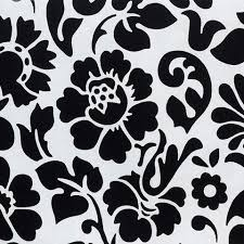 black and white floral wallpaper pattern. Beautiful And Floral Contact Wallpaper In Black And White By Burke Decor  Throughout And Pattern E