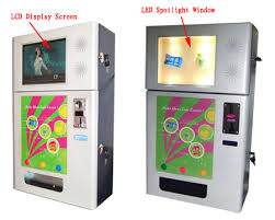 Multi Vending Machines Inspiration Vending Machine With LCD Promotion Screen