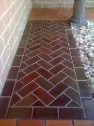 Saltillo Manganese Floor Tile Terra Cotta Clay Tiles
