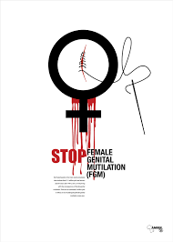 we shake our heads at foot binding but this is so much worse this  stop female genital mutilation fgm campaign