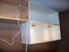 under cabinet lighting wiring. Under Cabinet Lighting Wiring E