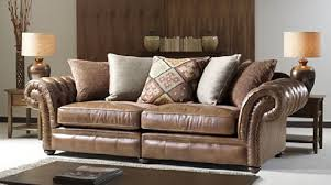 Classic and Aesthetic Lexington Leather Sofa Design for Home