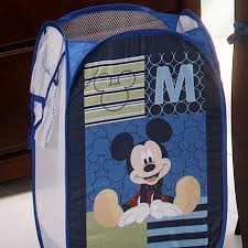 mickey mouse m is for mickey pop up hamper