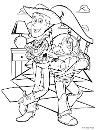 toys story coloring pages. Exellent Toys Disney Toy Story Woody And Buzz Inside Toys Coloring Pages N