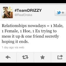 Drake Female Friend Hoe Quotes Inspiring Picture On Favim Mesmerizing Hoe Quotes