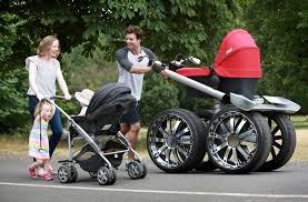 weird baby strollers guaranteed to get attention  mental floss