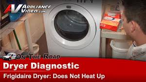Frigidaire Affinity Dryer 3 Blinking Lights Frigidaire Electrolux Dryer Diagnostic Not Heat Not Drying Clothes Faqe7011kwo