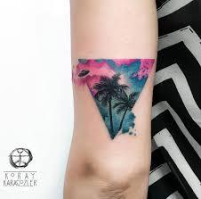 Bermuda Triangle Tattoo On Girls Arm Best Tattoo Design Ideas