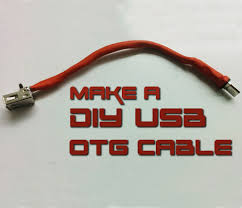 picture of how to make usb otg cable