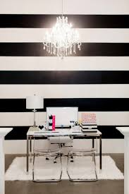 The Black and White Striped Wall