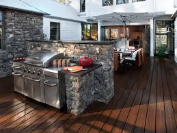 Countertop For Outdoor Kitchen Outdoor Kitchen Countertops Pictures Ideas From Hgtv Hgtv