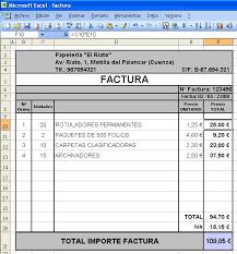 Canarlab Facturar Con Excel Vs Facturago