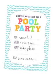 Free Pool Party Invitations Printable Birthday Invitation Card Awesome Invite Best Invites Free