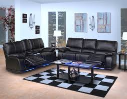 Mor Furniture Living Room Sets New Classic Electra Mesa Black Power Reclining Living Room Set 22
