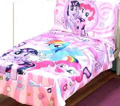 my little pony full size bedding my little pony twin bedding pony bedding set my little