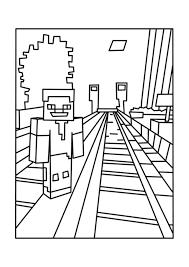 Minecraft Coloring Pages Printable Glandigoartcom