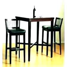 round pub table set small bistro table and chairs black 3 piece pub table set black